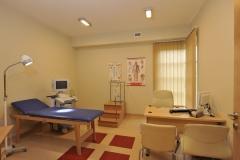 Gabinet w klinice kolonoskopii